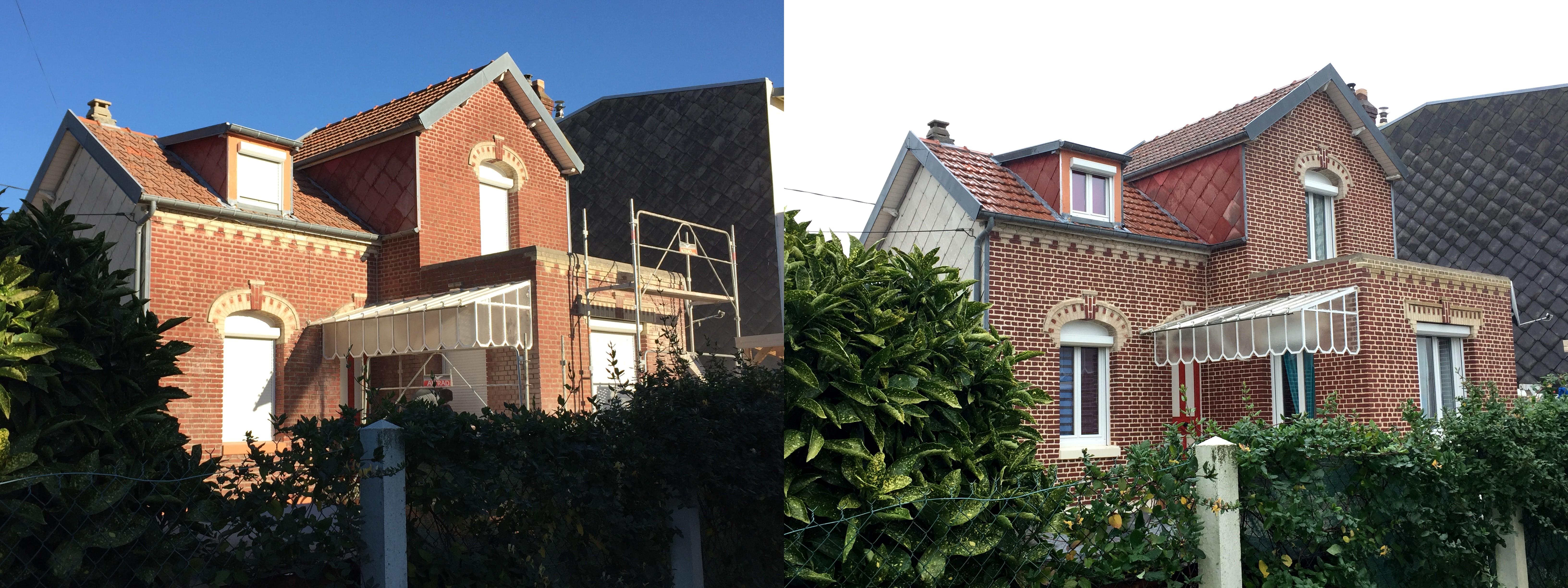 Rejointoiement briques de façade RAV EXP Rouen Saint Etienne du Rouvray travaux normandie nos services