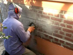 Rejointoiement de briques rouen saint etienne du rouvray Rav Exp