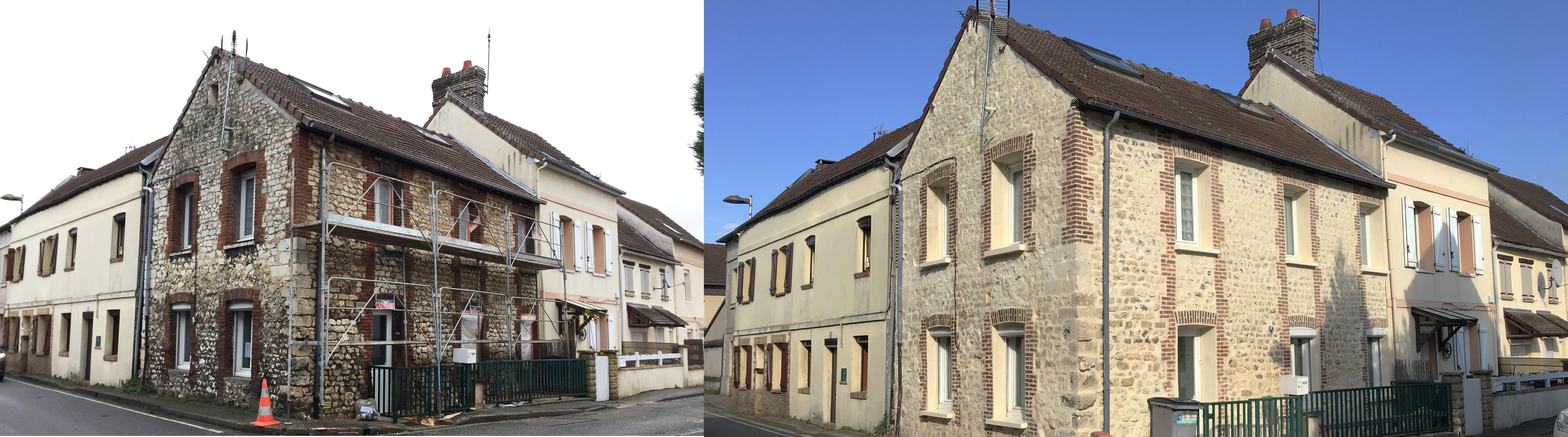 Rejointoiement-de-pierres-saint etienne du rouvray-entreprise-ravexp-travaux-façade-parement-pierre-rouen-normandie-nos services